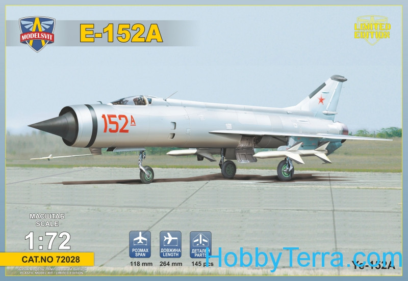 Ye-152A Soviet fighter