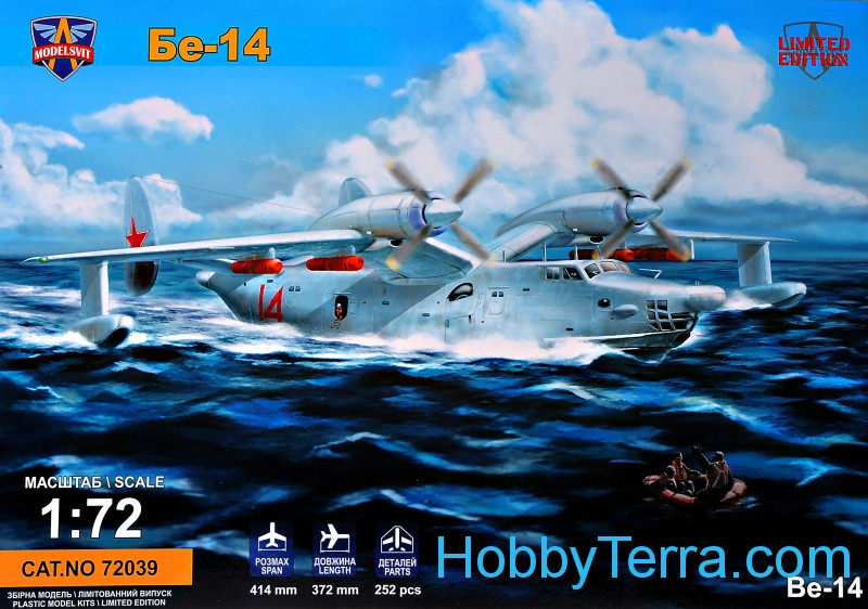 Beriev Be-14 all-weather SAR flying boat