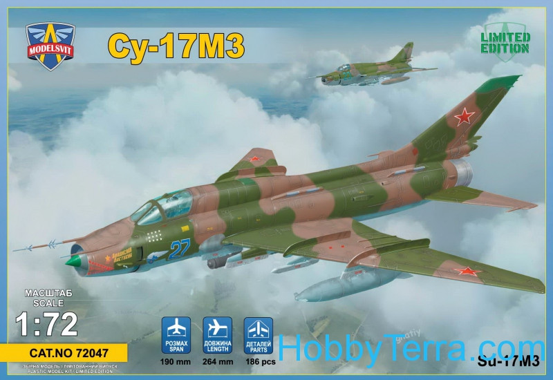 Su-17M3 advanced fighter-bomber