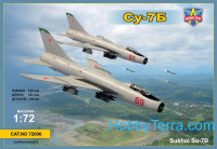 Sukhoi Su-7B Soviet fighter-bomber, limited edition