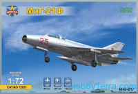 MiG-21F ground attack fighter