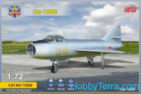 Yakovlev Yak-1000 Soviet supersonic demonstrator