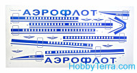 "Ilyushin Il-86 'Aeroflot' airliner<span style=""color: #ff0000""> FREE SHIPPING</span>"
