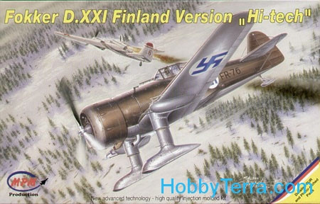 MPM Production  72526 Fokker D.XXI Finnish Air Force