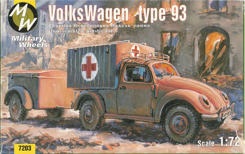 Volkswagen German car 4x4 type 93