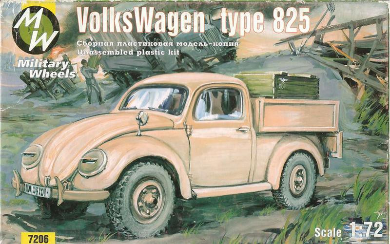 Volkswagen German car 4x4 type 825