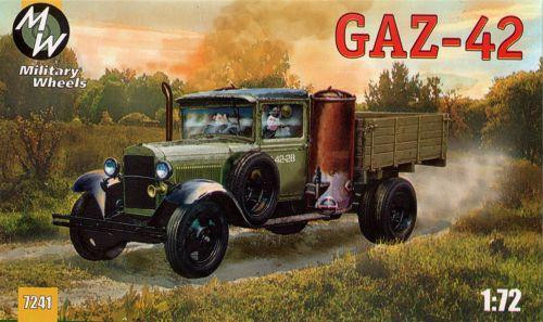 Military Wheels  7241 GAZ-42 Soviet truck