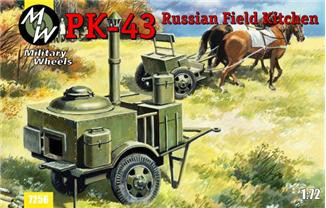 PK-43 Russian field kitchen