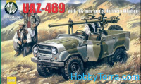 UAZ-469 with 106-mm gun