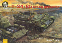 T-34/85 Soviet WWII repair retriever