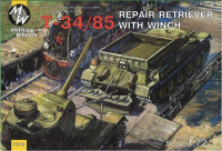 T-34-85 Soviet WWII repair retriever with winch