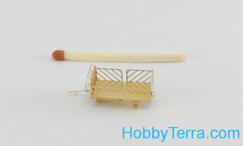 Airport luggage cart, photo-etched set
