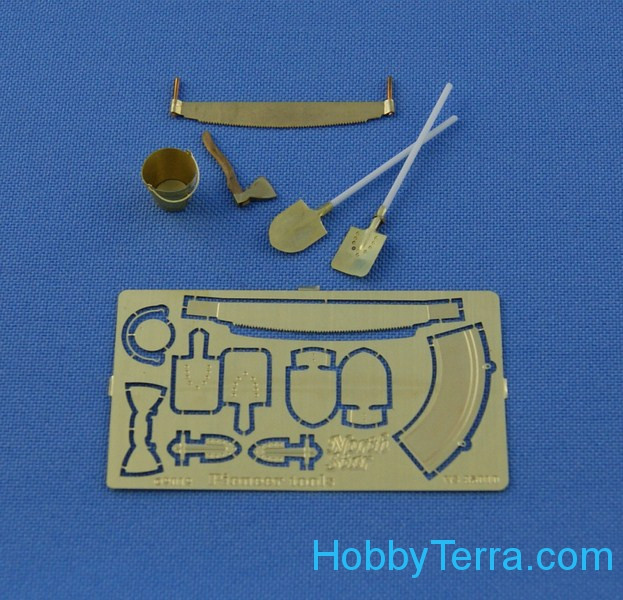Photo-etched set 1/35 Pioneer tool