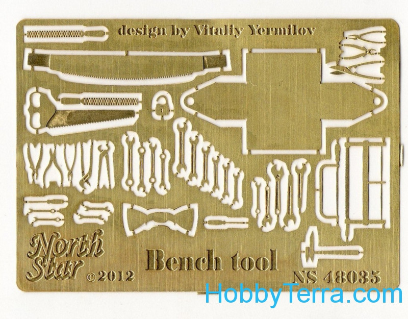 Northstar Models  48035 Photo-etched set 1/48 Bench tool