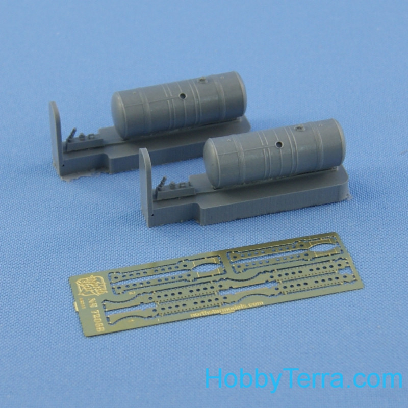 Additional internal fuel tanks for Mi-8 (resin, PE, decal)