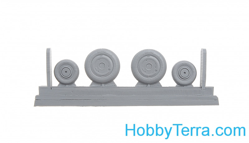 Wheels set 1/72 for Su-15TM, light series