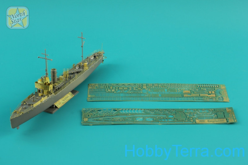 Photo-etched set 1/350 for A-86 torpedo boat