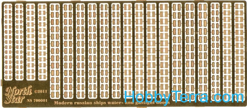 Photo-etched set 1/700 Doors for Russian ships
