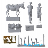 Set of resin figures. Scene from Soviet comedy film