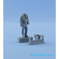 Resin figure of mechanic (driver) type 1