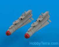 AGM65 Maverick + LAU-117/A Launcher (2 pcs., decal, PE parts)