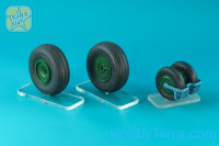 Wheels set 1/32 for MiG-29, No mask series