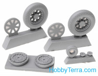 Wheels set 1/32 for Vought F4U Corsair - No mask series