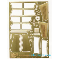 Photo-etched set 1/35 for MB Tourenwagen Typ 170 V, for Master Box kit