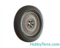 Wheels set for Mercedes V170 models (Michelin civil tires)