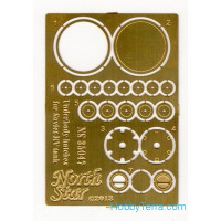 Photo-etched set 1/35 Underbody hatches for Soviet KV tanks