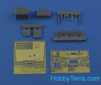 Detailing set 1/35 for KrAZ-214 interior, for Roden kit
