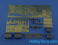 Detailing set 1/35 for KrAZ-214 exterior, for Roden kit