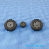 Wheels set 1/48 for Yak-1/3 No mask series