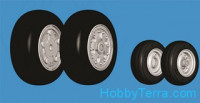 Northstar Models  48029-a Wheels set 1/48 F-18 A/B/C/D Hornet No mask series
