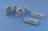 Wheels set 1/48 for Ka-50/52, no mask serises