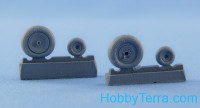 Wheels set 1/48 for Ka-50/52, light series