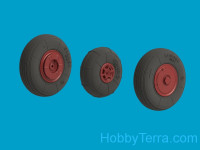 Wheel set 1/48 for YaK-52, light series