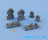 Wheels set 1/48 for F-15 E/I/K, no mask series