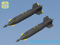 Set of 2 KAB-500L laser guided bomb (resin, PE parts, decal)