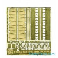 Photo-etched set 1/48 landing flaps for Fw-190 A/F/G, for Tamiya/Eduard kit