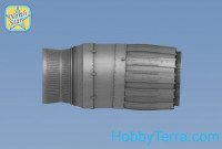 Exhaust nozzles 1/48 for MiG-29 (resin, PE parts)