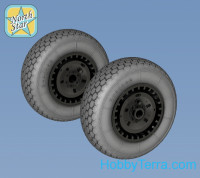 Wheels set 1/48 for Messerschmitt Me.262 type 1 - No mask series