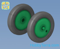 Wheels set 1/48 for Soviet WWII plane U-2 / Po-2 - No Mask series
