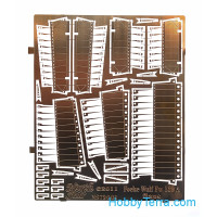 Photoetched set 1/72 for Focke Wulf Fw.189, flaps