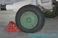 Wheel shock 1/72 for Russian/Soviet military aircraft