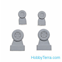 Wheels set 1/72 F/A-18 E/F Super Hornet Light series