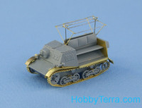 T-20 Komsomolets armored tractor, full resin kit with PE and decal