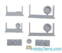 Wheels set 1/72 for F-15E/I/K, no mask series