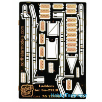 Photo-etched set 1/72 Ladder for Su-27UB fighter