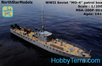 MO-4 Soviet small guard ship WWII